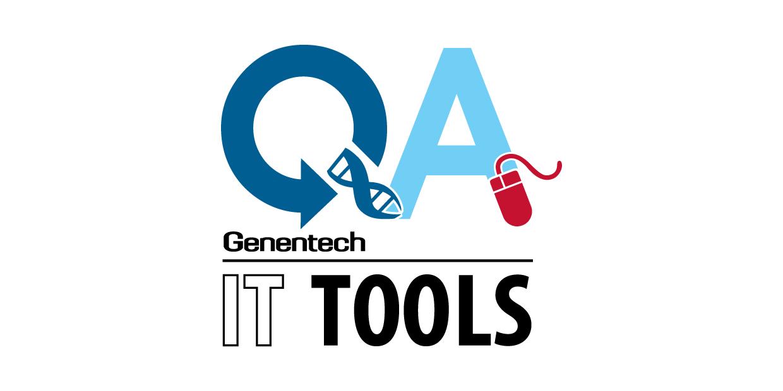 Q&A Genentech logo example