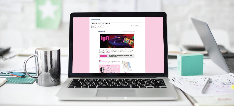 website example of lyft site
