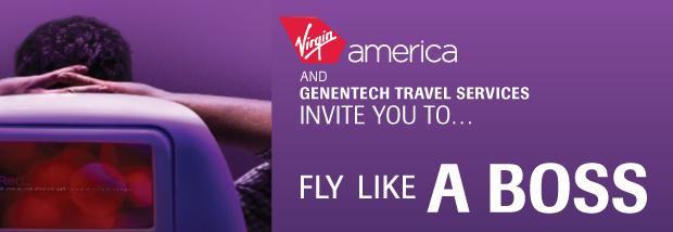 Virgin America website banner
