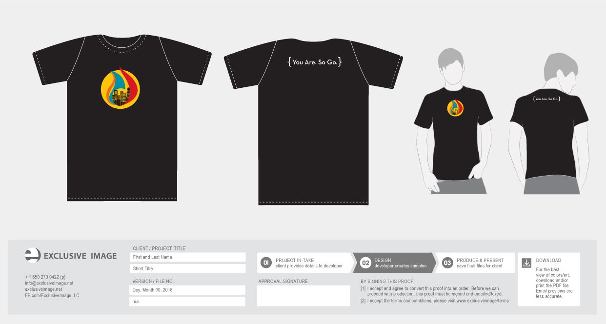 PCC Young Adult t-shirt mock ups