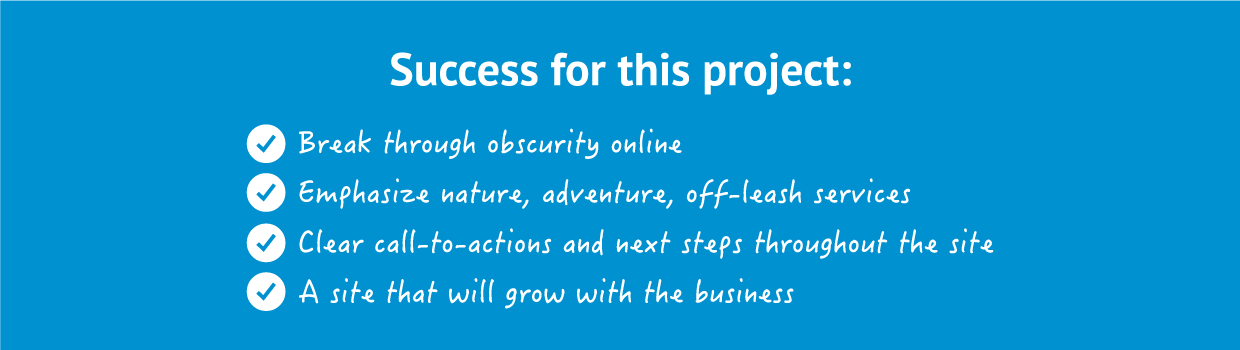 success for project, break through obscurity, nature, call-to-actions