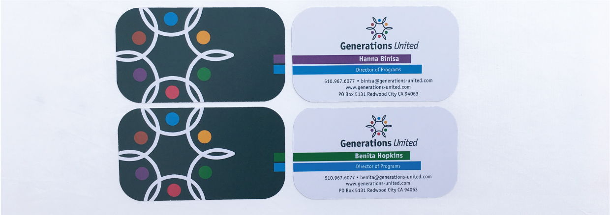 Generations United Business Cards