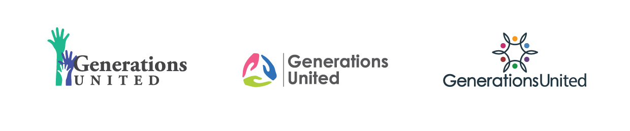 Generations United logo mock ups